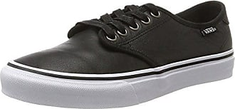 Vans Asher, Baskets Basses Femme, (Blackperf Leather), 37 EU