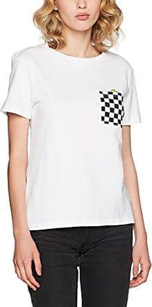 Vans Ditsy Raglan, Camiseta para Mujer, Multicolor (White/Fall Floral), 10 (Talla del Fabricante: Medium)