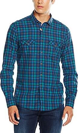 152314200 - Chemise Homme, Bleu (Blau 100), Cou: 41 (Taille Fabricant: 41)Venti
