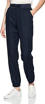 Vero Moda Vmyoyo Pants Jrs, Pantalones para Mujer, Azul (Navy Blazer Detail:Solid), 36 (Talla del Fabricante: Small)