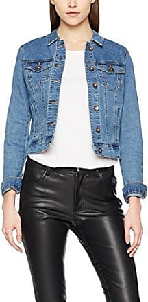 Vmhot SOYA LS Denim Jacket Mix Noos, Veste en Jean Femme, Bleu (Dark Blue Denim), 42 (Taille Fabricant: X-Large)Vero Moda