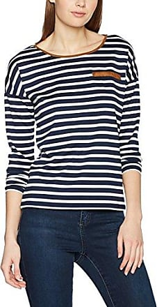 Vero Moda VMOLIVIA Star SS Wide Top DNM JRS, Camiseta Mujer, Multicolor (Ivory Cream), 34 (Talla del Fabricante: X-Small)