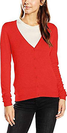 096CC1I020, Gilet Femme, Rouge (Bordeaux Red), 40 (Taille Fabricant: Large)EDC by Esprit