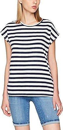 Vmannie Cherry SS Top D2-5, T-Shirt Femme, Bleu (Navy Blazer Detail:Cherry Badge), 34 (Taille Fabricant: X-Small)Vero Moda