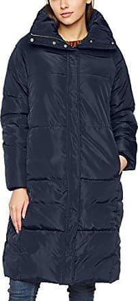 Vero Moda Vmdiva Long Jacket, Abrigo para Mujer, Azul (Navy Blazer), 34 (Talla del fabricante: X-Small)