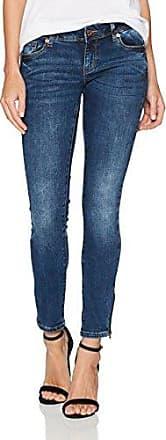 Vmfive Lw Super Am051, Jean Slim Femme, Bleu (Dark Blue Denim), 34/L32 (Taille Fabricant: X-Small)Vero Moda