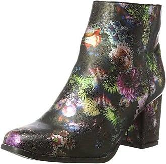 Vero Moda Vmgina Boot, Bottes Femme, Multicolore (Black Pink Flowers) 38 EU