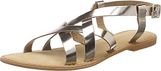 Vmmary Leather Sandal, Sandalia con Pulsera para Mujer, Multicolor (Black), 39 EU Vero Moda