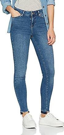 Vero Moda Vmfive Lw Ss Ankle Jeans Am057 Noos, Pantalones Vaqueros Delgados para Mujer, Azul (Medium Blue Denim Medium Blue Denim), W29/L32 (Talla del fabricante: 29.0)
