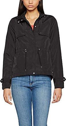 Vero Moda Vmroyce Short Suede Jacket Noos, Blouson Femme, (Black), 38 (Taille Fabricant: Medium)