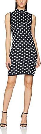 Vero Moda Vmluna 3/4 Short Dress D2-3, Vestido para Mujer, Multicolor (Black Checks: Black/White), 38 (Talla del Fabricante: Small)