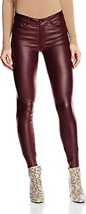Vmseven Nw SS Smooth COATCLR Pant Noos, Pantalon Femme, Rouge (Decadent Chocolate), 40/L32 (Taille Fabricant: Large)Vero Moda