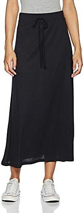 Vero Moda Vmyade Plisse 7/8 Skirt Jrs V, Falda para Mujer, Negro (Black), 40 (Talla del Fabricante: Large)