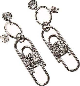 Versace Earrings for Women On Sale, Silver, Metal, 2017, One Size