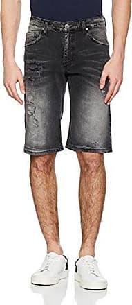 EA4GPB106, Pantalones Cortos para Hombre, Negro (Nero), 48 (Talla del Fabricante: 33) Versace Jeans Couture