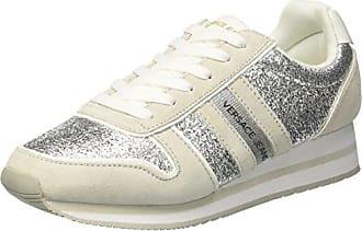 EE0YRBSA1_E70013, Zapatillas para Hombre, Multicolor (Nero/Bianco Ottico Emhu), 41 EU Versace Jeans Couture