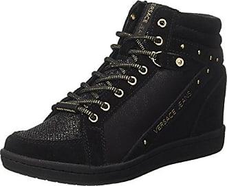 EE0VRBSB1_E70024, Zapatillas para Mujer, Negro (Nero E899), 36 EU Versace Jeans Couture