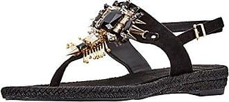 Scarpa, Tongs Femme, Noir (Nero E899), 36 EUVersace Jeans Couture