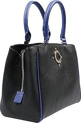 Jeans E1VQBBK2_75428 Damen Handtaschen Leder Schwarz Versace YmyG3q