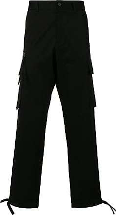 Pants for Men On Sale in Outlet, Black, Cotton, 2017, 28 Versace