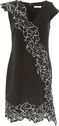 Dress for Women, Evening Cocktail Party On Sale in Outlet, Black, polyester, 2017, 12 Versace