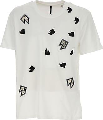 Camiseta de Hombre Baratos en Rebajas, Blanco, Algodon, 2017, L M S XL XXL Versace