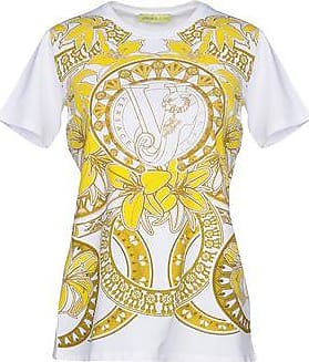 T-Shirt for Women On Sale, White, Cotton, 2017, 10 8 Versace