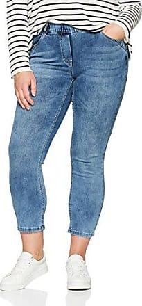 Womens Siena-Hose MIT langem SCHMALE, Bein Elastischer Gummibund Trousers Via Appia Due