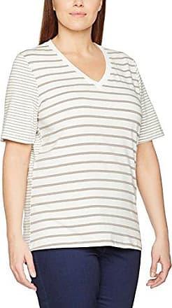 Via Appia Due T-Shirt V-Ausschnitt 1/2 Arm Druck, Camiseta para Mujer, Multicolor (Blau Multicolor 833), 52