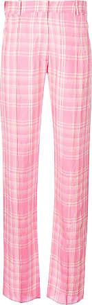 plaid straight leg trousers - Pink & Purple Victoria Beckham U34yqH