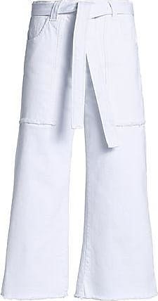 Victoria, Victoria Beckham Woman High-rise Bootcut Jeans White Size 29 Victoria Beckham