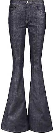 Victoria, Victoria Beckham Woman Mid-rise Flared Jeans Light Denim Size 29 Victoria Beckham