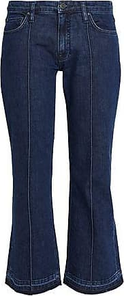 Victoria, Victoria Beckham Woman Faded Mid-rise Slim-leg Jeans Light Denim Size 29 Victoria Beckham