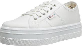 Victoria Basket Flores Y Corazones Plataforma, Sneakers Basses Mixte Adulte, Blanc (20 Blanco), 37 EU