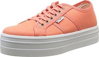 Blucher Lona 109200, Sneakers Basses Femme - Orange (Papaya), 39 EUVictoria
