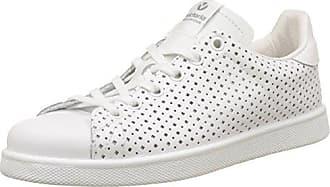 Unisex-Erwachsene Deportivo Piel Perforado Sneaker, Weiß (Blanco), 40 EU Victoria