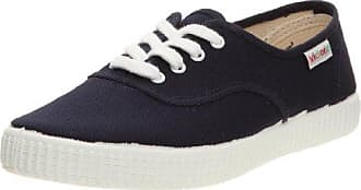 Inglesa Lona Detall Contrast, Sneaker uomo Blu Bleu (Azul) 40 Victoria