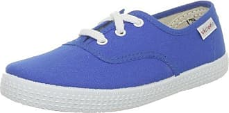 Victoria Nautico Lona Serraje, Chaussures à lacets mixte adulte - Bleu (Petroleo), 40 EU
