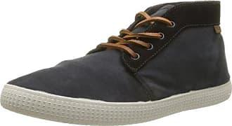 Victoria Chukka Tintada Cuero - Zapatillas de deporte de tela para hombre negro negro 42 gh2JnKJ