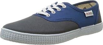 Calego Inglesa Pique Piso 106610 - Zapatillas de tela unisex, color gris, talla 40 Victoria