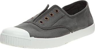 victoria Slip on Tej Trenza Metalizado, Damen Sneaker Grau Gris (Plomo) 36
