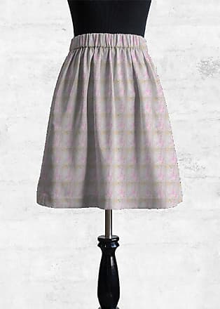 Best Place Cheap Online Cupro Skirt - Flowers and Stripes by VIDA VIDA Free Shipping Low Cost Ost Release Dates tR1fbN