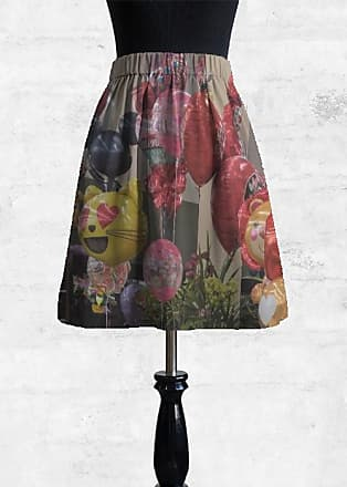 Cupro Skirt - Soft Floral by VIDA VIDA With Paypal Low Price Pay With Visa Cheap Online QF3gL5GNi