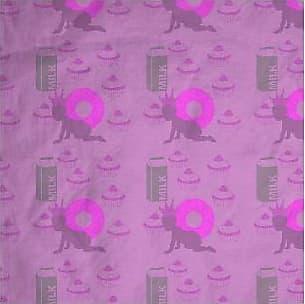 Mens Silk Pocket Square - violet diagonal lines by VIDA VIDA 4HI692W