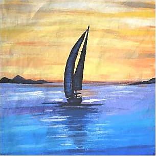 Mens Silk Pocket Square - Sail Away by VIDA VIDA 0zGUkDuX