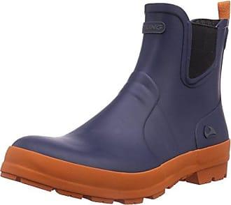 Viking Lillesand Jr, Bottes de Pluie Mixte Adulte, Bleu (Navy/Orange 531), 41 EU