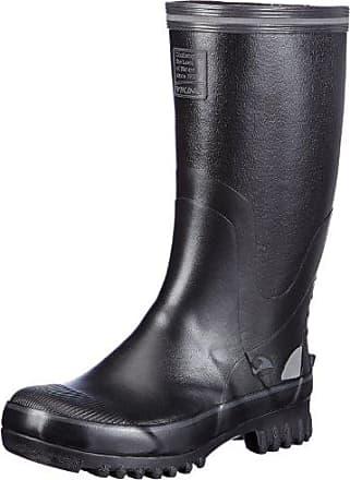 Viking Kunto, Bottes en caoutchouc de hauteur moyenne, doublure froide mixte adulteNoirSchwarz (2), 44 EU (9.5 Erwachsene UK) EU