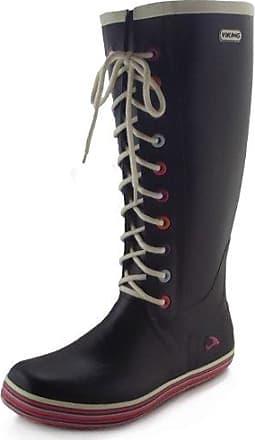 Viking Retro Light Schwarz, Damen Gummistiefel, Größe EU 40 - Farbe Black Damen Gummistiefel, Black, Größe 40 - Schwarz