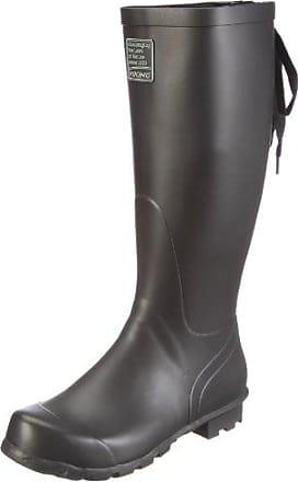 Viking 1-36100, Bottes de Pluie Femme - Noir - Schwarz (Black/Olive 237), 41 EU