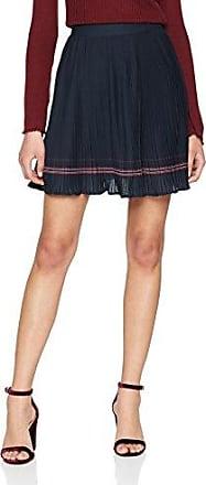 Vila CLOTHES VIPEN NEW SKIRT-NOOS, Falda Mujer, Azul (Total Eclipse), 40 (Talla del fabricante: Large)